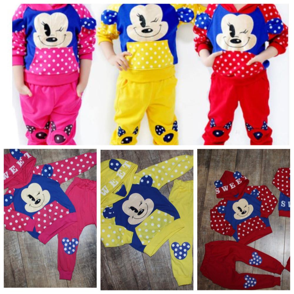 Костюмы для девочек и мальчиков на 1-6 лет-цвета и накатки разные фото №3