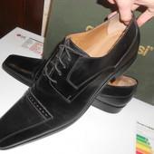 Новые в коробке туфли Gino Rossi натуральная кожа. Размер 46. Италия