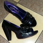 Босоножки, туфли с открытыми пальцами Bronx, размер 39-40. Сделано в Бразилии!