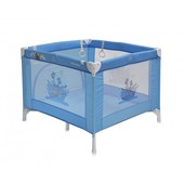 Детская кроватка-манеж Bertoni Play Station blue adventure