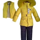 Зимний костюм для девочки 2 цвета