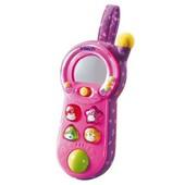 Музыкальный, развивающий телефон, подвеска, soft singing phone, Vtech