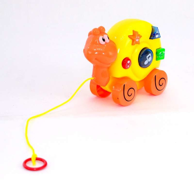 Животное каталочка, на бат-ке, свет, звук, на веревке фото №1