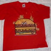 футболка на мальчика 7-8  лет