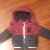 Шикарная моднячая куртка-жилетка на мальчика 18-24!!Cool Club!!