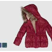Куртки зимние для девочек рр.104-116 ТМ Бемби