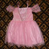 Платье нарядное пышное на девочку 6-8 лет
