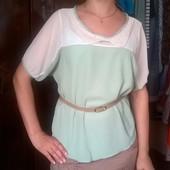 блузка с воротничком