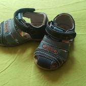 кожание сандали для малиша 21 размер