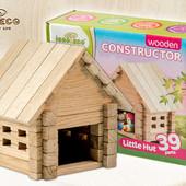 Конструктор деревянный Домик 39