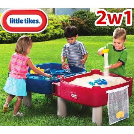 Песочница-стол 2 в 1 little tikes играем и рисуем (451t) фото №1