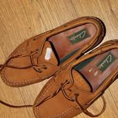 Туфли-Мокассины Clarks. Размер 36.