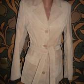 Кожаная Куртка - Пиджак *Натуральная кожа* Отличное состояние