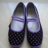 Тапочки , размер 35, стелька 22,5 см, Польша, детская обувь.