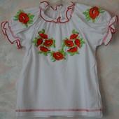 Вишиванки дитячі, вышиванки детские дешево, много разных, распродажа!!!