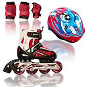 Роликовые раздвижные коньки Explore comfort flex combo (Amigo Sport)