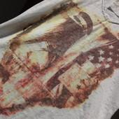 Kenny S. Лонгслив, футболка с рукавом 3/4 и принтом в коричневых тонах. Есть нюанс!!!