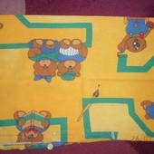 Постельный набор в кроватку детскую
