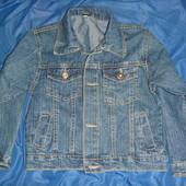 джинсовая куртка на 4-5 лет