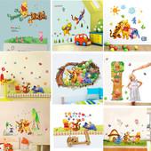 Интерьерные наклейки на стену в детскую. В наличии и под заказ