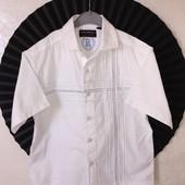 Фирменная рубашка Rebel на 7-8 лет рост 128см.