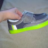 Туфли-кеды bartek 34 размер.