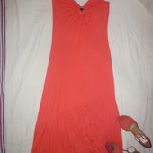 Сарафан на завязках бретелях пляжное платье длиное Asos 10-12 р