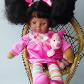 Кукла этническая негритоска KS