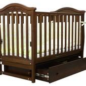 Детская кроватка Соня ЛД 3 маятник с ящиком 2 цвета