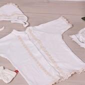 Рубашка для крещения, крестильная рубашка, наряд для крестин