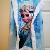 Платье эльзы холодное сердце девочку 4-5 лет.