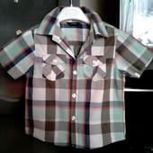 Рубашка George. 4-5 лет.