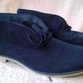 ботинки замшевые Watson 43p.