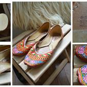 Национальные индийские туфли-джутти Topshop ,р-р 39