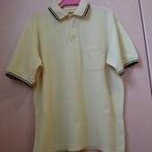 Фирменная футболка поло тенниска спортивная Explorer Англия оригинал  M-L/10-12 (48-50)