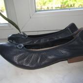 Продам кожаные балетки немецкой фирмы Caprice 38 р.