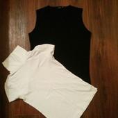 Стильные фирменные  майки-блузы  на S и M. 1 на выбор. За блиц 70 -  2 шт