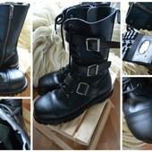Готические кожаные сапоги-берцы ботинки Demonia Men's Riot 12 , р-р 46-47