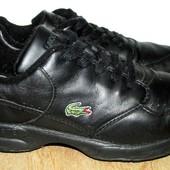 Lacoste оригинал кроссы кожа 24.5 см