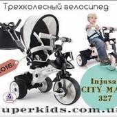 Трехколесный велосипед Injusa City Max 327