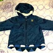 Ветровка-куртка с флисовой подкладкой