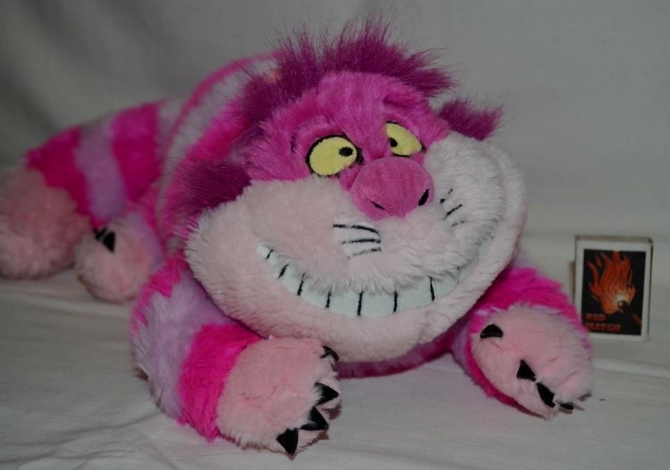 Огромная игрушка чеширский кот алиса в стране чудес alice in wonderlan оригинал disney дисней фото №1