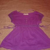 Яскрава обалденна блузка Zara. Нова !