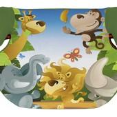 Детское автокресло - бустер Bertoni Teddy  (15-36кг) (green jungle)