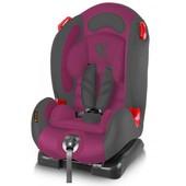 Надежное детское автокресло Bertoni F1 9-25 кг Violet&Gray