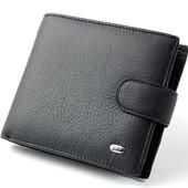 Мужской кожаный кошелек портмоне визитница SТ натуральная кожа