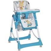 Cтульчик для кормления Bertoni Lorelli Primo -blue bunny мягкий и безопасный детский стульчик