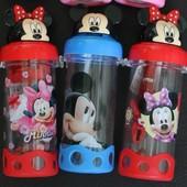 Детский поильник с Minnie Mickey kitty