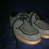 Стильные туфли очень легкие (р. 40,5) Англия