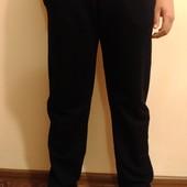 Спортивные трикотажные ровные мужские брюки